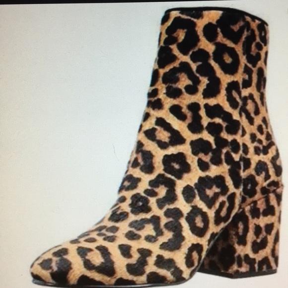 6b2838832e3c Sam Edelman Taye ankle booties size 8 leopard. M 5b80b2e9cdc7f76a844865ab